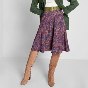 Modcloth On My Way A Line Skirt